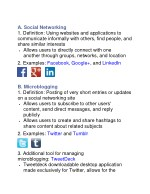 a social networking 1 definition using websites