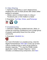e video sharing 1 definition publishing a user