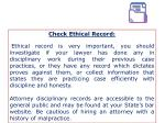 check ethical record ethical record is very