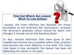 find out where dui lawyer went to law school
