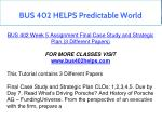 bus 402 helps predictable world 10