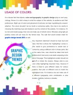usage of colors
