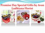 promise day special gifts by avon ludhiana florist