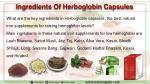 ingredients of herboglobin capsules