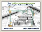 best workforce management solutions improving