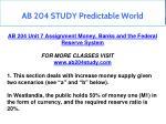 ab 204 study predictable world 7
