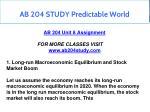ab 204 study predictable world 8