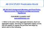 ab 204 study predictable world 9