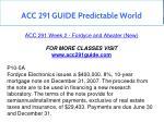 acc 291 guide predictable world 4