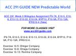 acc 291 guide new predictable world 10