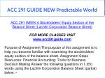 acc 291 guide new predictable world 12