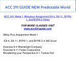 acc 291 guide new predictable world 3