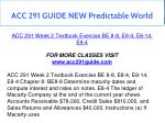 acc 291 guide new predictable world 6