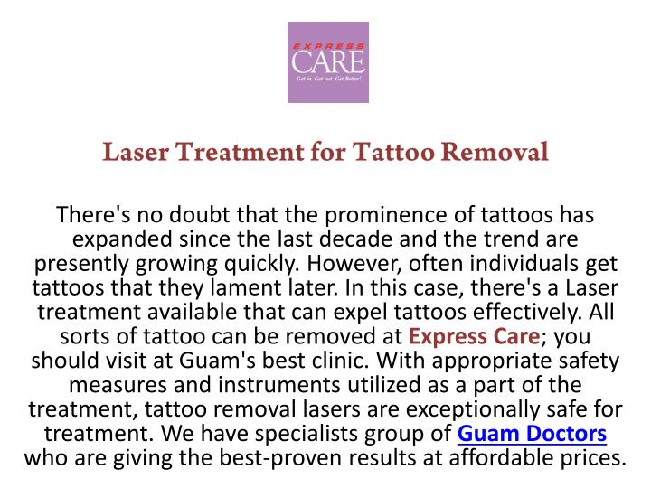 laser treatment for tattoo removal there n.