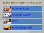 living intraparstha spa resort