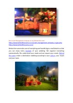 best event management company in goa behind 1