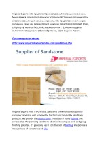 imperial exports india agrared honed desertcamel