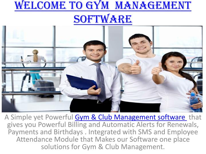 welcome to gym management software n.