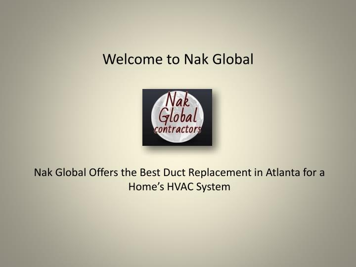 welcome to nak global n.