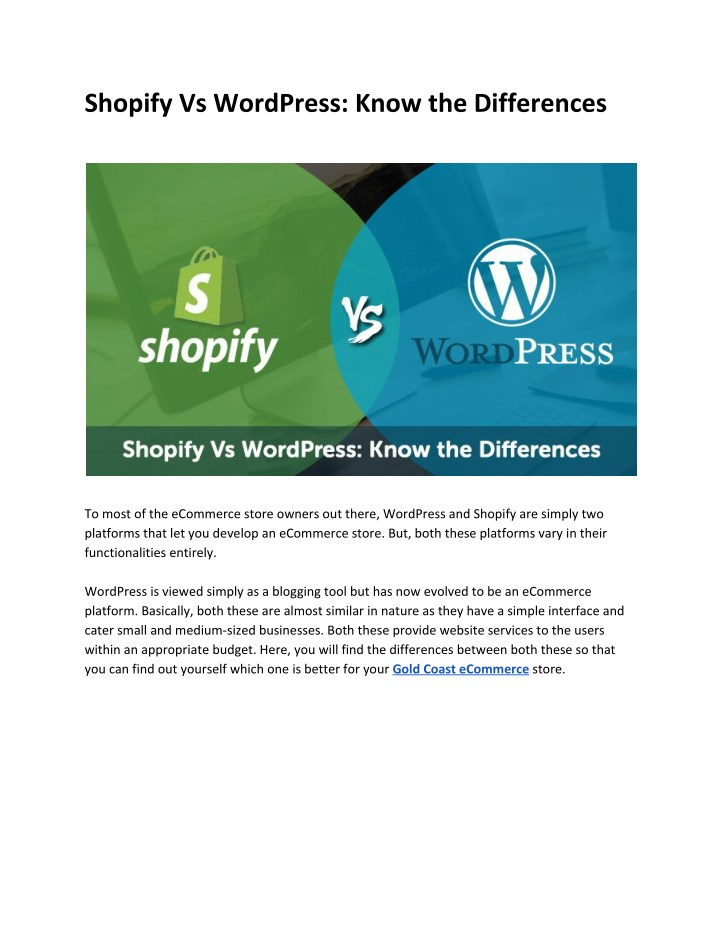 shopify vs wordpress know the differences n.