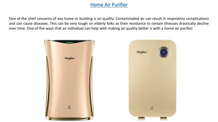 home air purifier n.