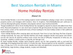 best vacation rentals in miami home holiday 1
