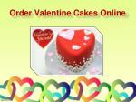 order valentine cakes online