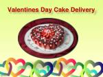 valentines day cake delivery