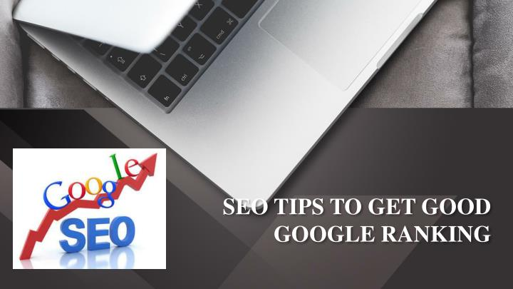 seo tips to get good google ranking n.