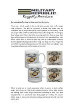get marines coffee mug to show your love