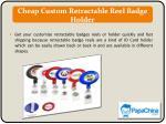 cheap custom retractable reel badge holder
