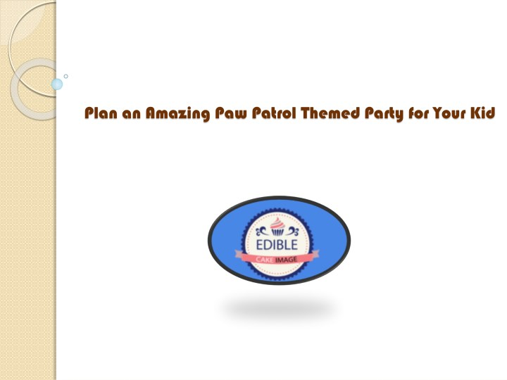 plan an amazing paw patrol themed party for your n.