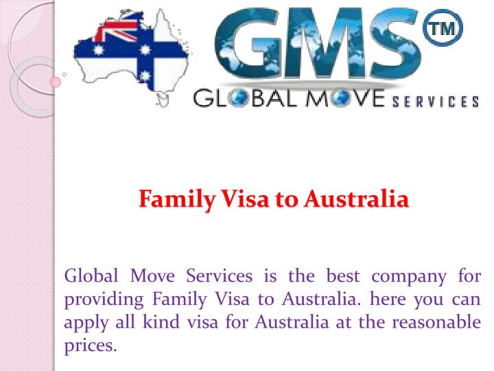 family visa to australia n.