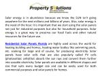 solar energy is in abundance because we know