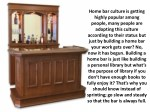 home bar culture is getting highly popular among 1