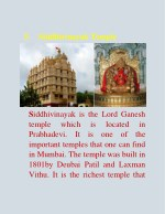 5 siddhivinayak temple