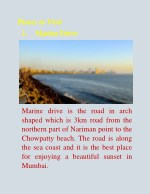 places to visit 1 marine drive