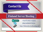 finland server hosting 1