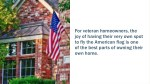 for veteran homeowners the joy of having their