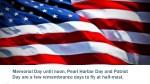 memorial day until noon pearl harbor