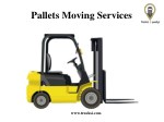 pallets moving services