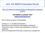 acc 421 nerd predictable world 7