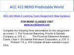 acc 422 nerd predictable world 14