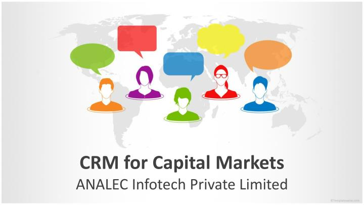 crm for capital markets n.