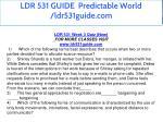 ldr 531 guide predictable world ldr531guide com 27