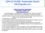 ldr 531 guide predictable world ldr531guide com 5