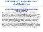 ldr 531 guide predictable world ldr531guide com 8