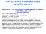 mat 510 rank predictable world mat510rank com 6