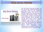 italy server hosting 1