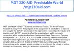 mgt 230 aid predictable world mgt230aid com 19